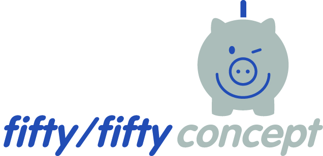 fifty/fifty-concept Logo